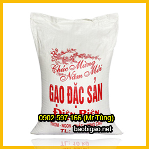 bao bì gạo giá rẻ 10kg
