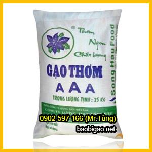 bao bì gạo giá rẻ 25kg