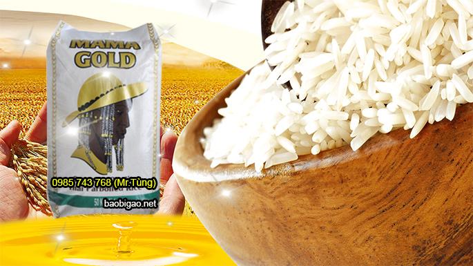 Mẫu bao bì đựng gạo